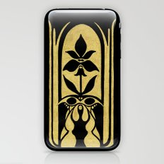Golden Symmetry 2 iPhone & iPod Skin
