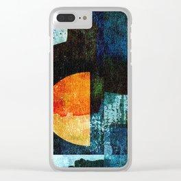Half Moon Serenade Clear iPhone Case