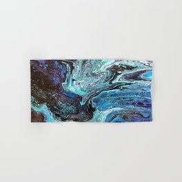 Blue Explosion Hand & Bath Towel