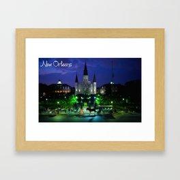 New Orleans Louisiana Framed Art Print