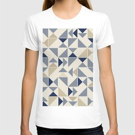 Zigzag Triangles T-shirt