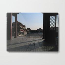 The Forbidden City Metal Print
