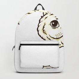 Cat Cute Vector Backpack