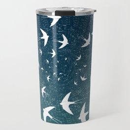 Birds Circle Travel Mug