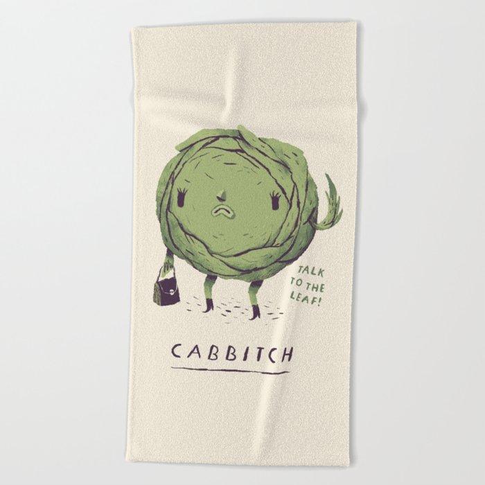 cabbitch Beach Towel