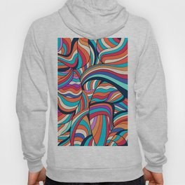 African Style No24, Sahara echoes Hoody