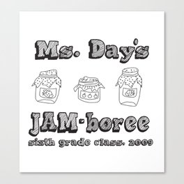 Jammin' JAM-boree Canvas Print