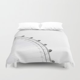 London Eye Monochrome Duvet Cover