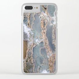 Hot springs Clear iPhone Case
