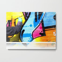 That Funky Style - Sprayed Metal Print