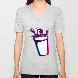 Codeine Double Cup cough syrup Unisex V-Neck