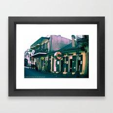 Bourbon Street. Framed Art Print