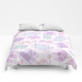 Gamer Girl Pattern Comforters