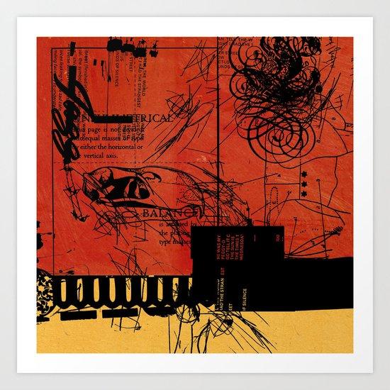 ANALOG ZINE / BETTER GIT IT IN YOUR SOUL Art Print