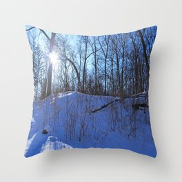Dark Whisper Throw Pillow