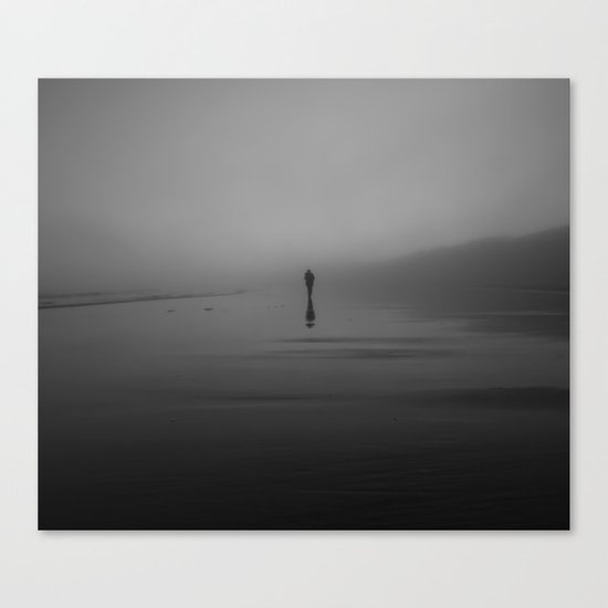 The Morning Fog Canvas Print