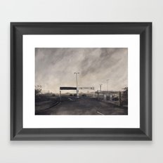 Edgeland  Framed Art Print