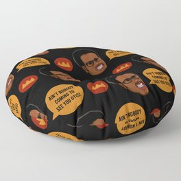 David Ruffin Floor Pillow