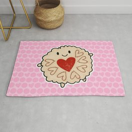 Jammie Dodger Watercolour Rug