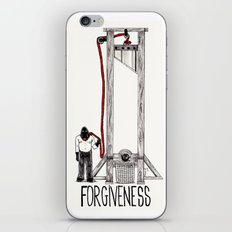 FORGIVENESS iPhone & iPod Skin