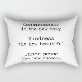 Redefining sexy, beautiful, successful. Rectangular Pillow