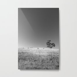 Tree On The Hill No.2 Metal Print