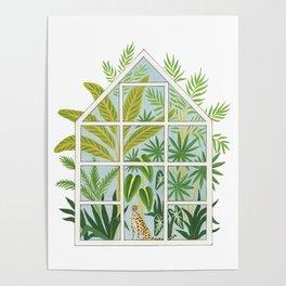 jungle greenhouse Poster