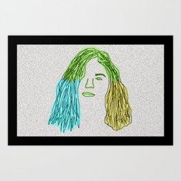 neon borns Art Print