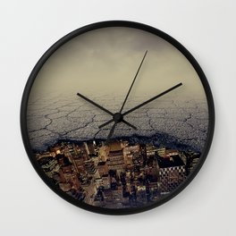 city underground Wall Clock