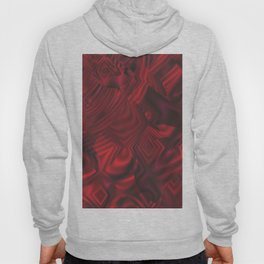 Barn Red Abstract Hoody