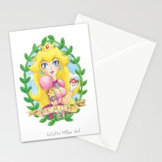 Tattooed Peach Stationery Cards