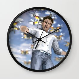 I want you to be my volunteer! Wall Clock