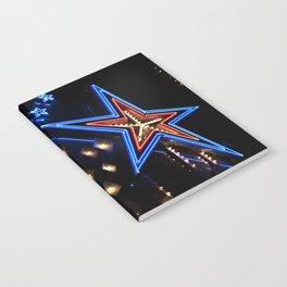 neon star Notebook