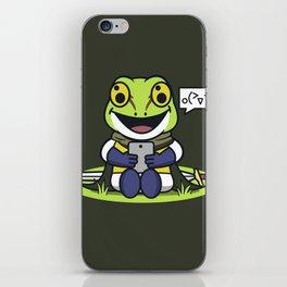 A Happy Glenn iPhone Skin