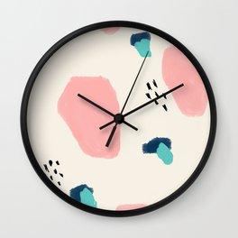 Flutter No. 4 Wall Clock
