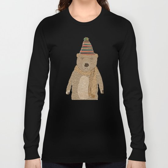 mr grizzly bear  Long Sleeve T-shirt