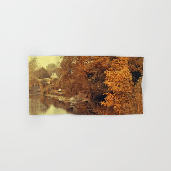 Autumn scenery #4 Hand & Bath Towel