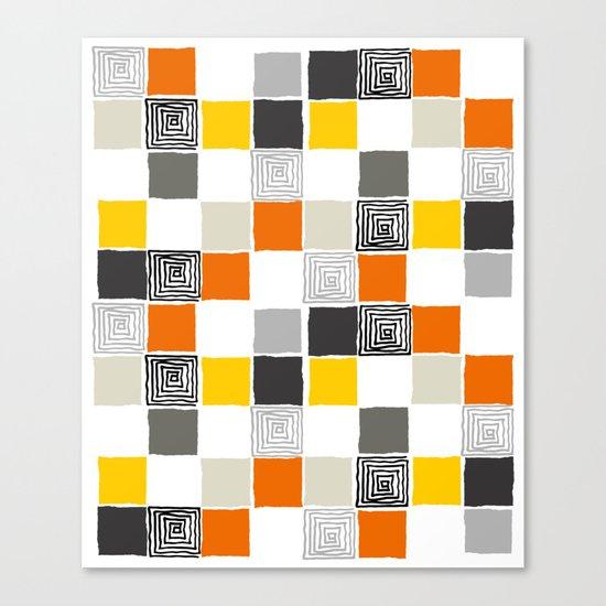 pattern 43 Canvas Print