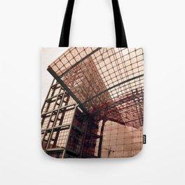 Facade - Train station - Berlin Tote Bag