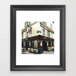 Cafe Culture Framed Art Print