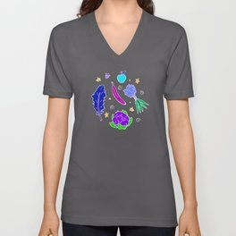 Space Produce Unisex V-Neck