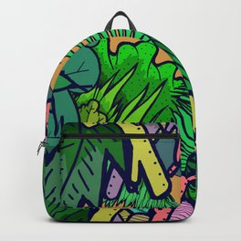 The overgrown jungle Backpack