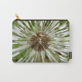 Dandelion In The Rain Carry-All Pouch