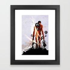 The Fiddler Framed Art Print