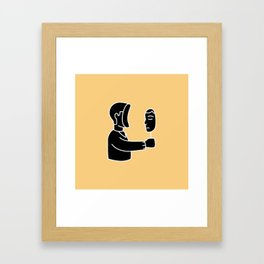 Just look at yourself Framed Art Print