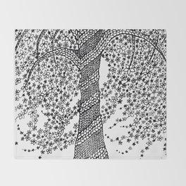 The Healing Tree Throw Blanket