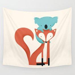 Fox & Koala Wall Tapestry