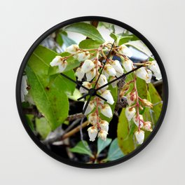 Mountain Fire Pierie Wall Clock