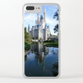 Castle Reflection Clear iPhone Case