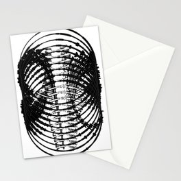 Downtown Circle Print Stationery Cards